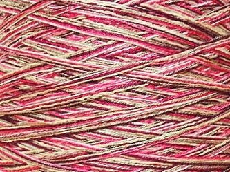 コットンミックス糸 ミックスカラー 243 gの画像