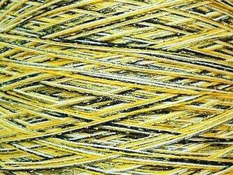 コットン・ラメ・ウール糸 ミックスカラー 204 gの画像