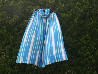 絽縮緬 透けるスカートの画像