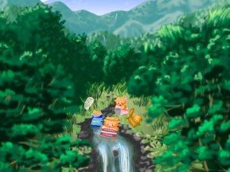 夏山のポストカード【2枚組】の画像