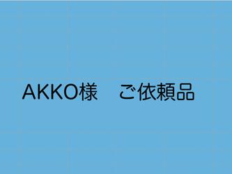 AKKO様 ご依頼品の画像