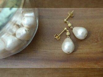 コットンパール M pierce・earringの画像