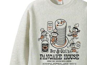 【厚手生地】【あったか】Boy&Girl'sパンケーキハウス  S~XL トレーナー【受注生産品】の画像