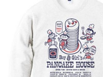 Boy&Girl'sパンケーキハウス トレーナー【受注生産品】の画像