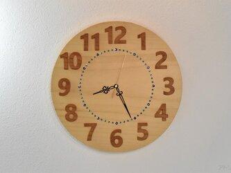 【受注制作】大きな大きな銀杏の木の掛け時計【クオーツ時計】の画像