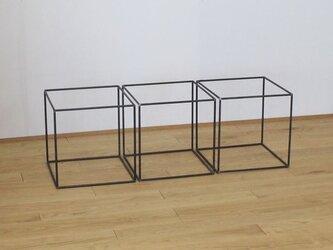 Φ9mmアイアンキューブ(正立方体)フレームの画像