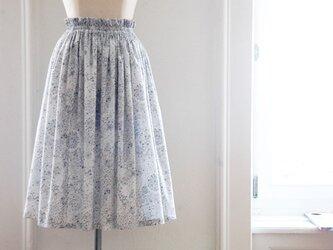 Liberty:Adelajda チュチュみたいなギャザースカート(ロング丈)の画像