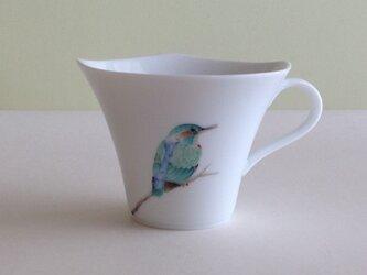 カワセミのマグカップの画像
