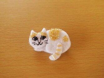 野良猫ブローチ④の画像