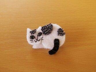 野良猫ブローチ③の画像