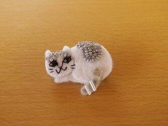 野良猫ブローチ②の画像