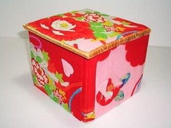 SALE!《送料無料》ロールティッシュケース飾り箱 ー 椿 ーの画像