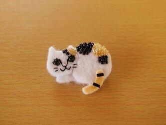野良猫ブローチ①の画像