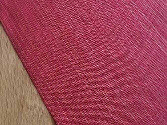 【手織り】麻のテーブルセンターの画像