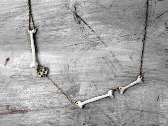 三つ骨のネックレスの画像
