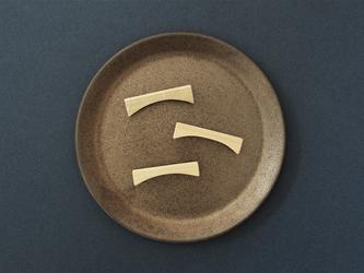 木製のシンプルブローチ flat series No.4(br011)の画像