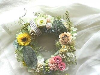 """【送料無料】wreath""""so cute""""の画像"""