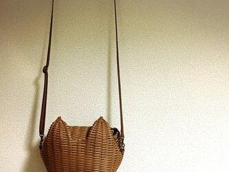 猫耳ポシェットの画像