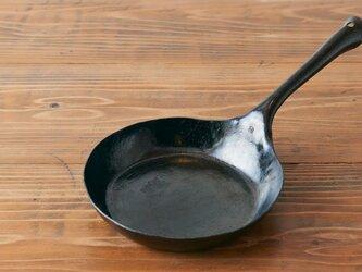 鍛冶職人の鉄のフライパン(L)【受注製作】の画像