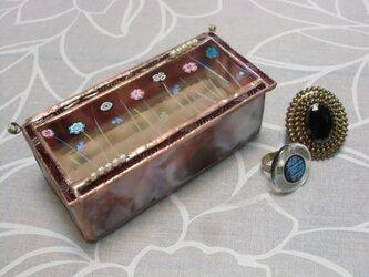 お花の ring boxの画像