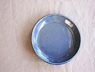 gizagizaリム皿(小/青)の画像