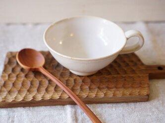 白いティカップ小さめスープカップ No.523の画像