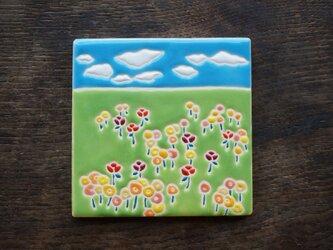 草原の花畑 Flores en el Campo[Sold]の画像