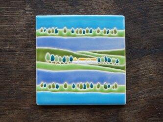 草原の湖 Lago en el Campo[Sold]の画像