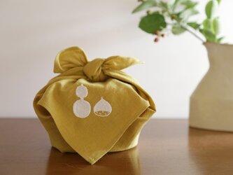 お弁当包み ロゴ(からし)の画像