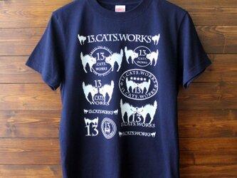 Tシャツ(ロゴ・ROCK)-シルクスクリーン-13.CATS.WORKSオリジナルの画像