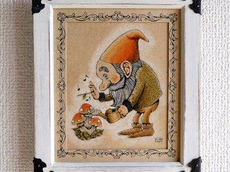ノームの幸運のキノコ栽培の画像