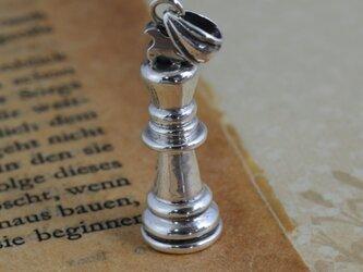 チェス駒ペンダントの画像