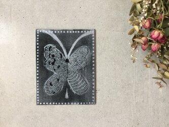 【一点のみ】私の夢を食べて飛ぶ蝶々【原画】*アートパネル*の画像