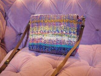 さをり織 ショルダーバッグの画像