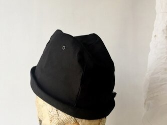 LINEN ROPE HELMA HAT | BLACK*リネンロープハットの画像