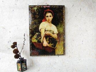 ✨くるみ工房✨ 貴方と作る壁掛け加工 絵画ブグローの画像