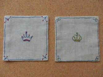 コースター 王冠  の画像
