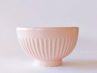 しのぎのご飯茶碗(桜色)の画像