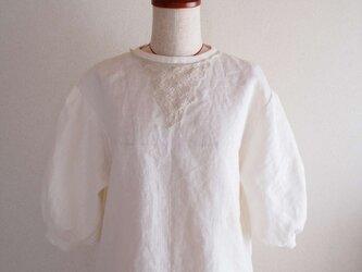 pressed flower -blouse-の画像