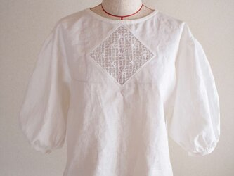 flower window -blouse-の画像