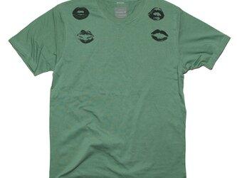 キスマーク 唇マークデザイン TシャツTcollectorの画像