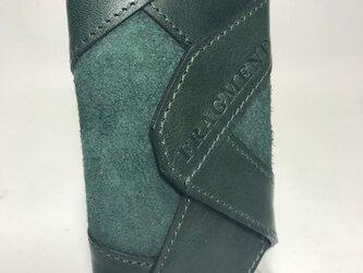 ホースレザー 4連キーケース グリーンの画像