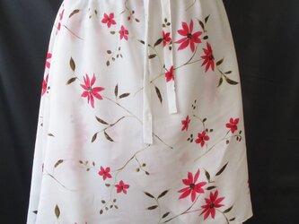 ランダムフリルのスカートの画像