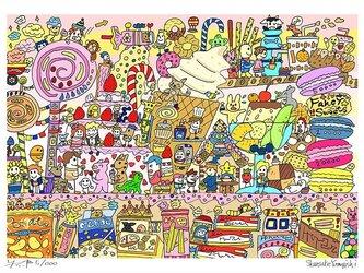 Fancy sweets (A4 size)の画像
