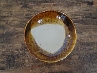 中皿(秋琥珀)の画像