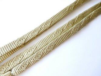 三分紐:長尺【浮きダイヤ】手組み組紐の画像