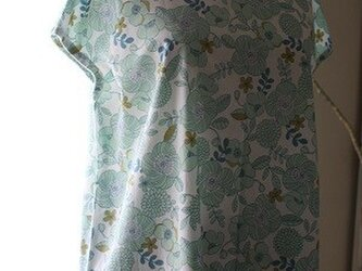 花柄OP(緑色)の画像