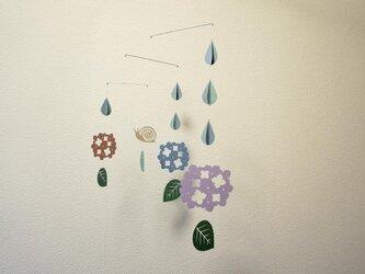モビール「梅雨A」その1の画像