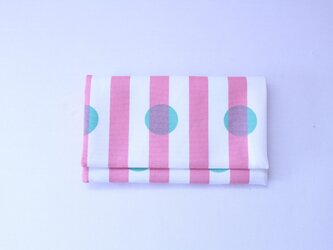 懐紙、通帳いれ Dot pinkの画像