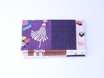 懐紙、通帳いれ Nihonichi purpleの画像